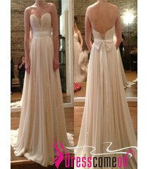 a line sweetheart ivory sequins wedding dress chiffon wedding/bridal gown