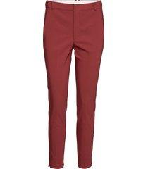 zella pant slimfit broek skinny broek bruin inwear