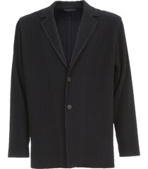 homme plissé issey miyake jacket 2 buttons