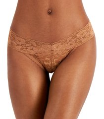 inc international concepts women's lace thong underwear, created for macy's