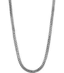 'classic chain tiga' silver necklace