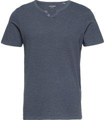 jjesplit neck tee ss t-shirts short-sleeved blå jack & j s