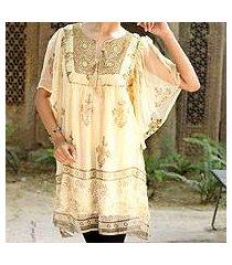 embellished tunic, 'jaipur glitz' (india)