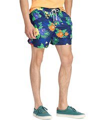 floral traveler swim shorts
