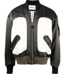 ambush ma-1 panelled bomber jacket - black