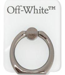 off-white logo-print popsocket