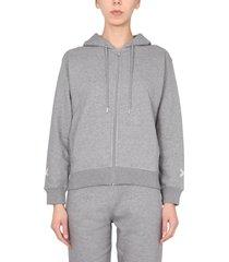 kenzo hooded sweatshirt with zip