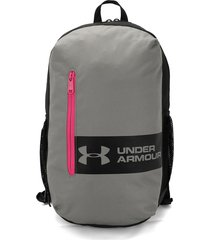 morral  gris-negro-rosa under armour