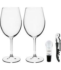 conjunto de 2 taças para vinho authentic collection fullfit
