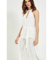 vestido alejandra off white