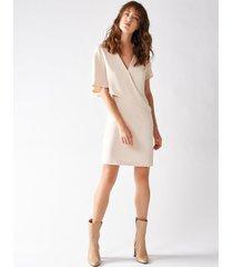 rinascimento vestito corto con layer