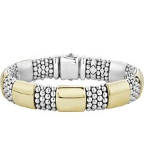women's lagos caviar high bar rope bracelet