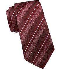 diagonal stripe silk-blend tie