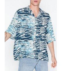 tiger of sweden jeans penner o shirt skjortor print