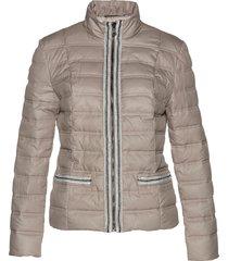 giacca trapuntata con bordi di perle (marrone) - bpc selection premium