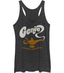 disney juniors' aladdin genie cosmic powers tri-blend tank top
