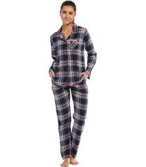 dames pyjama rebelle flanel 21212-446-6-48