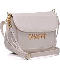bolsa dhaffy bolsas com bolso na frente branco