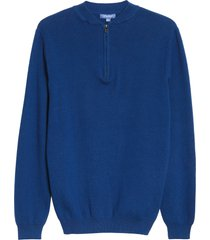 men's devereux zion quarter zip sweater