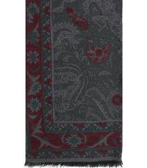 etro scarf jacquard 70x200