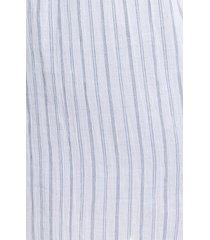 plus size women's treasure & bond stripe woven tunic