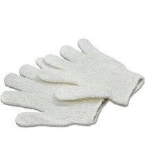 luva esfoliante océane femme exfoliating gloves white