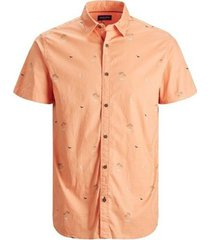 overhemd korte mouw jack & jones camisa manga corta hombre jack jones 12187953