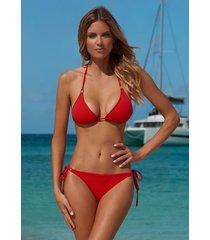 melissa odabash cancun bikini red