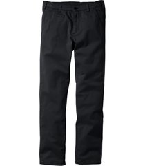pantaloni chino elasticizzati slim fit (nero) - bpc bonprix collection