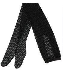 versace monogram tights