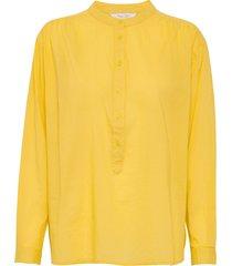 biancapw sh blouse lange mouwen geel part two