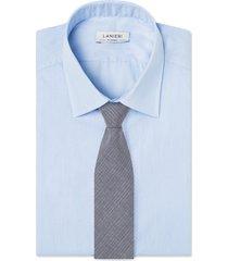 cravatta su misura, reda, regimental grigia, primavera estate | lanieri