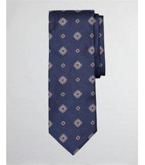 corbata spaced medallion azul brooks brothers