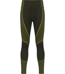 sweaty betty speedy seamless leggings - green