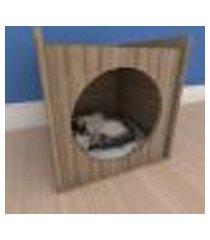 mesa de cabeceira caminha minimalista pequeno gato em mdf amadeirado