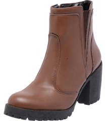 bota coturno mega boots 1406 marrom