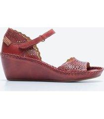 sandalia casual mujer pikolinos sdt5 rojo