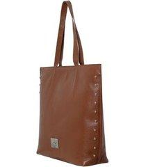 bolsa em couro sacola - feminino