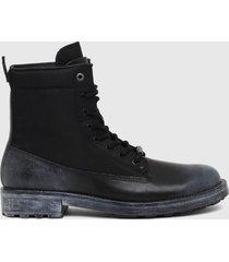 botas  d throuper dbbz boots  negro diesel
