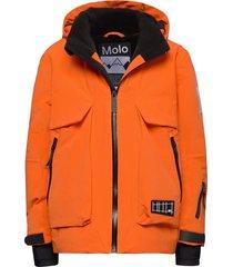 alpine recycle outerwear snow/ski clothing snow/ski jacket oranje molo