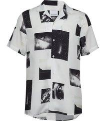 einar sx aop 10527 kortärmad skjorta vit samsøe samsøe