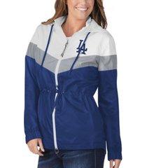 g-iii sports los angeles dodgers women's stadium lightweight jacket