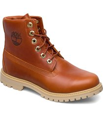 paninara collarless 6 wp shoes boots ankle boots ankle boot - flat brun timberland