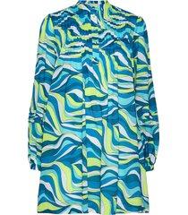 60s swirl mini shft drs dresses everyday dresses blå michael kors