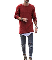 tejer camisamanga largao-cuello regular fit camiseta