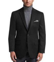 joseph abboud limited edition black modern fit sport coat