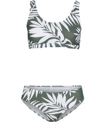 bikini a bustier (set 2 pezzi) (verde) - bpc bonprix collection