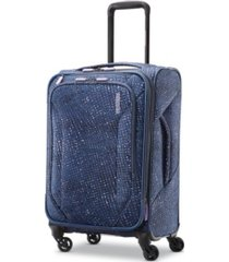 "american tourister tribute dlx 20"" softside carry-on spinner"