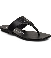 sabre 2 shoes summer shoes flat sandals svart calvin klein