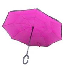 guarda chuva abre e fecha invertido contrário smart umbrella 31 modelo 31